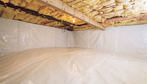 Tryon, NC Crawl Space Encapsulation - After