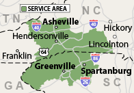 Our North and South Carolina Service Area