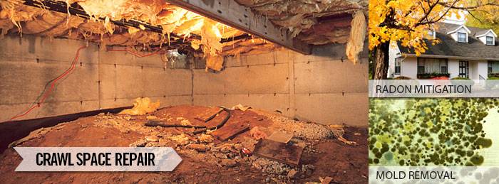 We are the North and South Carolina Crawl Space Experts!